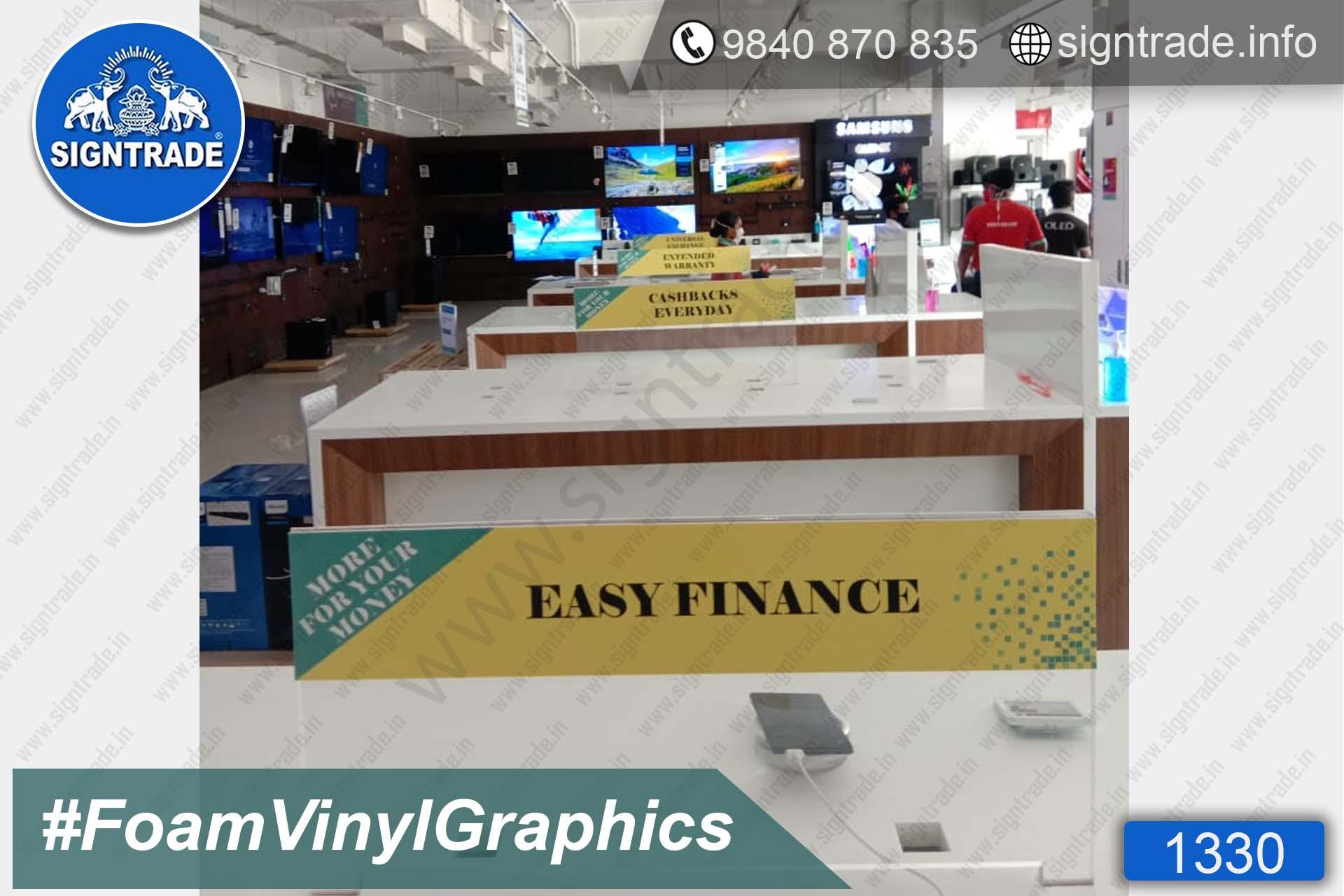 Colorjet - Avadi - Mogappair - Chennai - SIGNTRADE - Vinyl Graphics On Foam Board