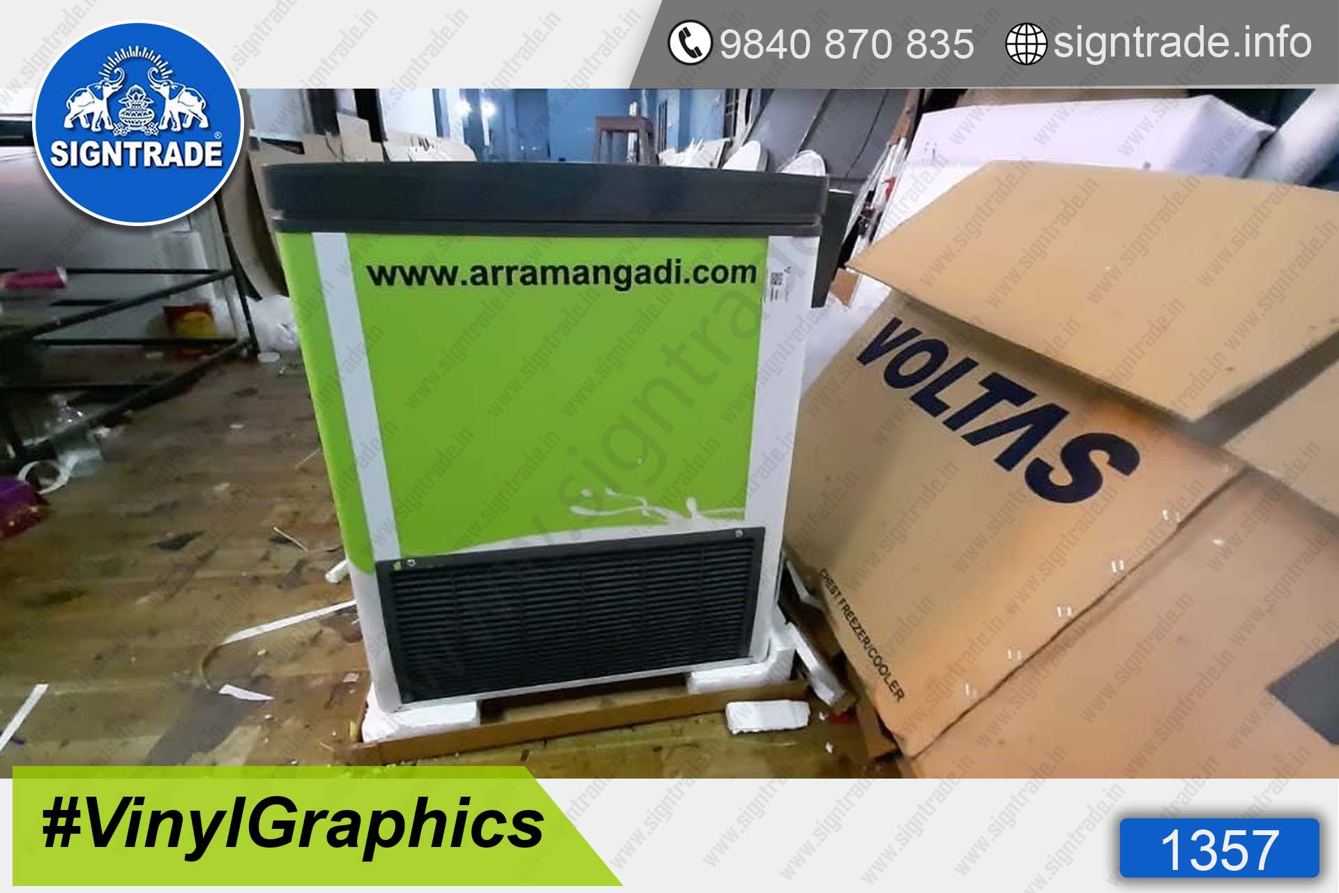 Arram Farms - Natural Cow Milk - Chennai - SIGNTRADE - Wall Graphics and Wall Wrapping Service in Chennai