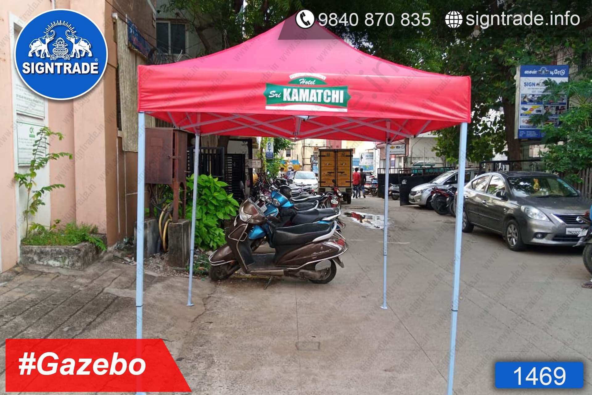 KAMATCHI - Chennai - SIGNTRADE - Gazebo Tent Manufacture in Chennai