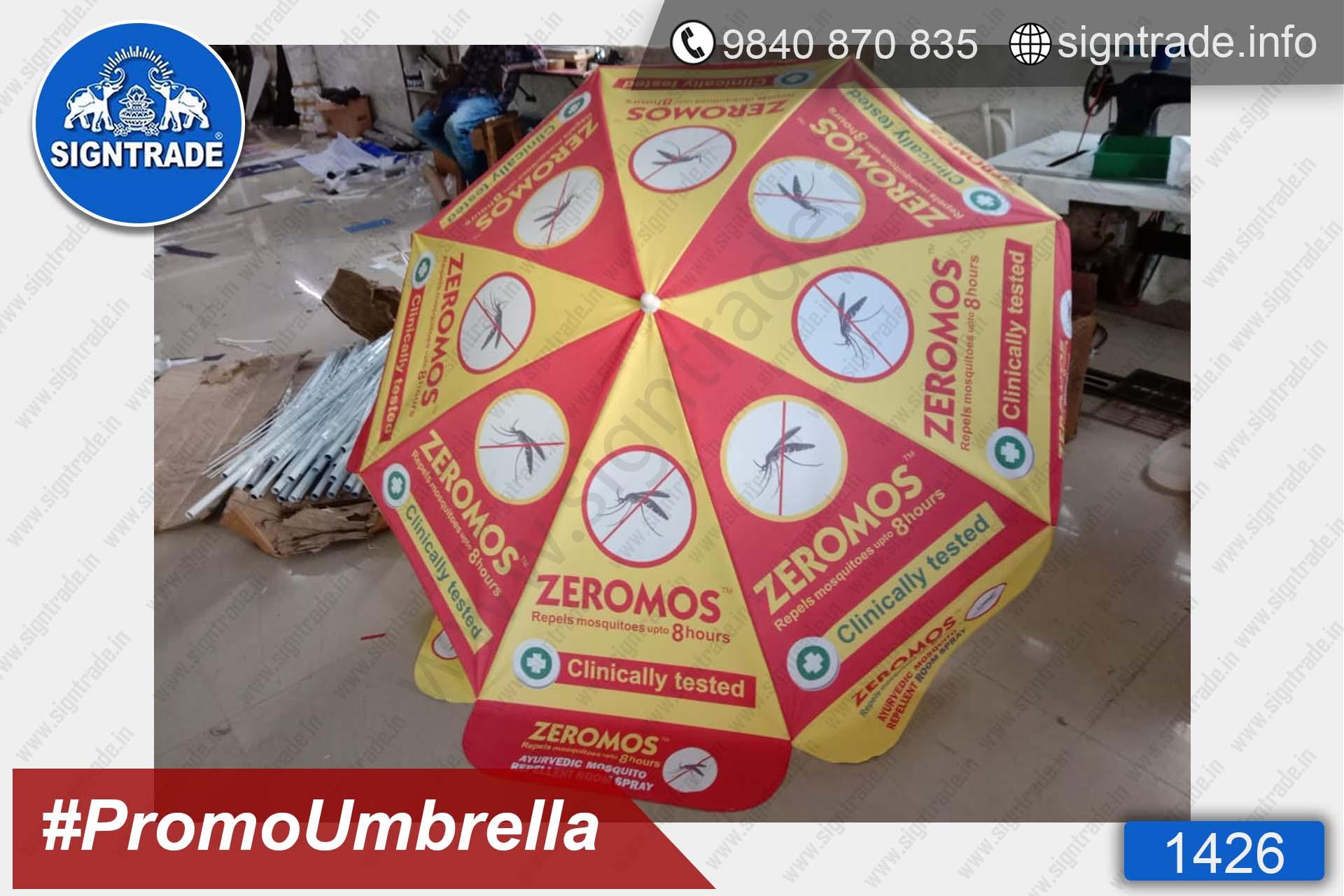 Zeromos Natural Mosquito Repellent Spray - 1426, Promotional Umbrella, Umbrella, Promo Umbrella, Advertising Umbrella, Big Umbrella, Large Umbrella, Printed Umbrella