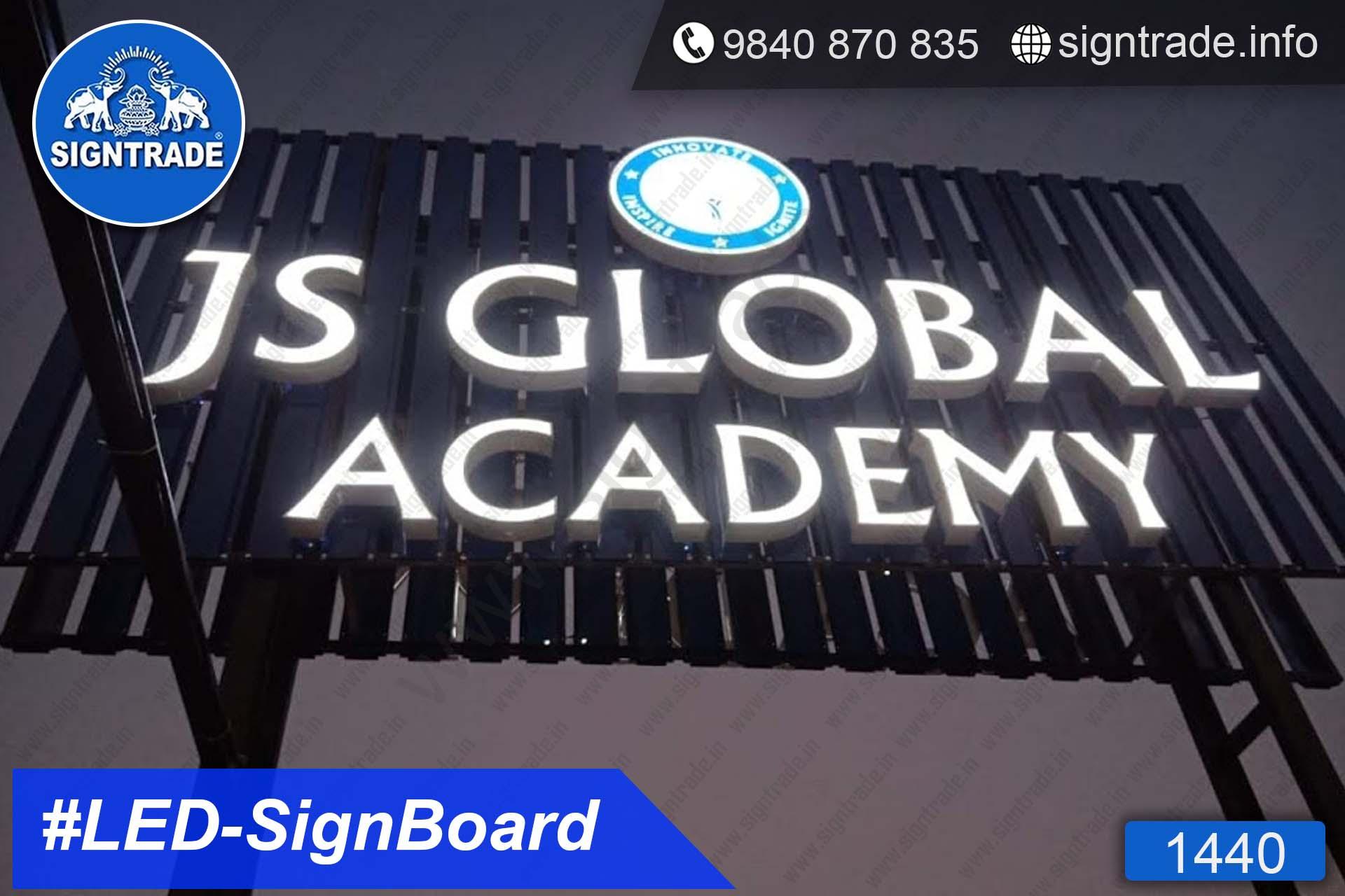 1440, LED Sign Board, Sign Board, Acrylic Sign Board, Glow Sign Board, Custom Sign Board