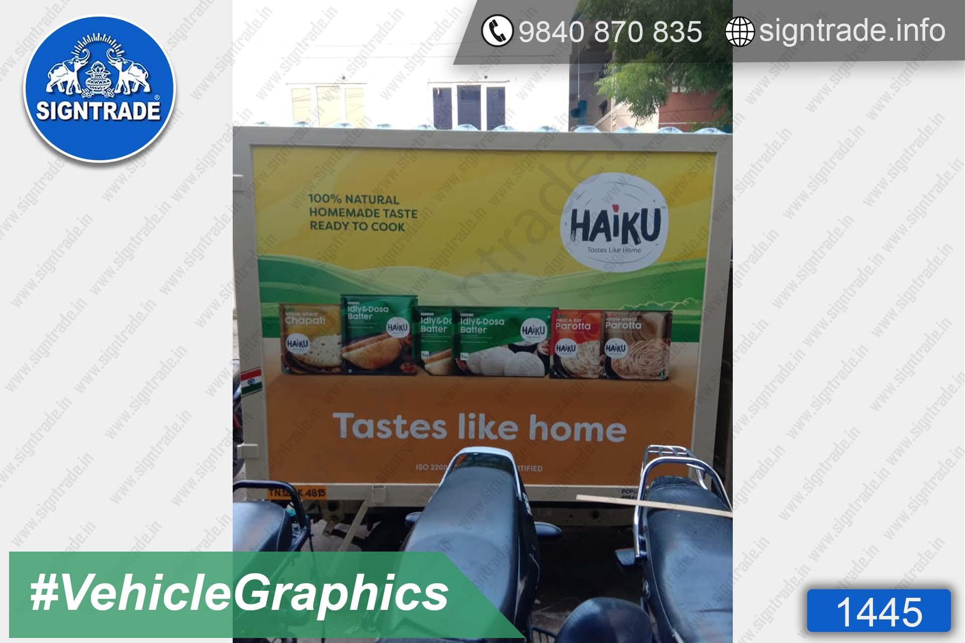 Haiku tastes like home - 1445, Vehicle Graphics, Vehicle Wrapping, Vehicle Branding, Vinyl Vehicle Branding, Van Graphics, Van Wrapping, Van Branding, Vinyl Van Branding, Car Graphics, Car Wrapping, Car Branding, Vinyl Car Branding, Car Stickers, Van Car Stickers