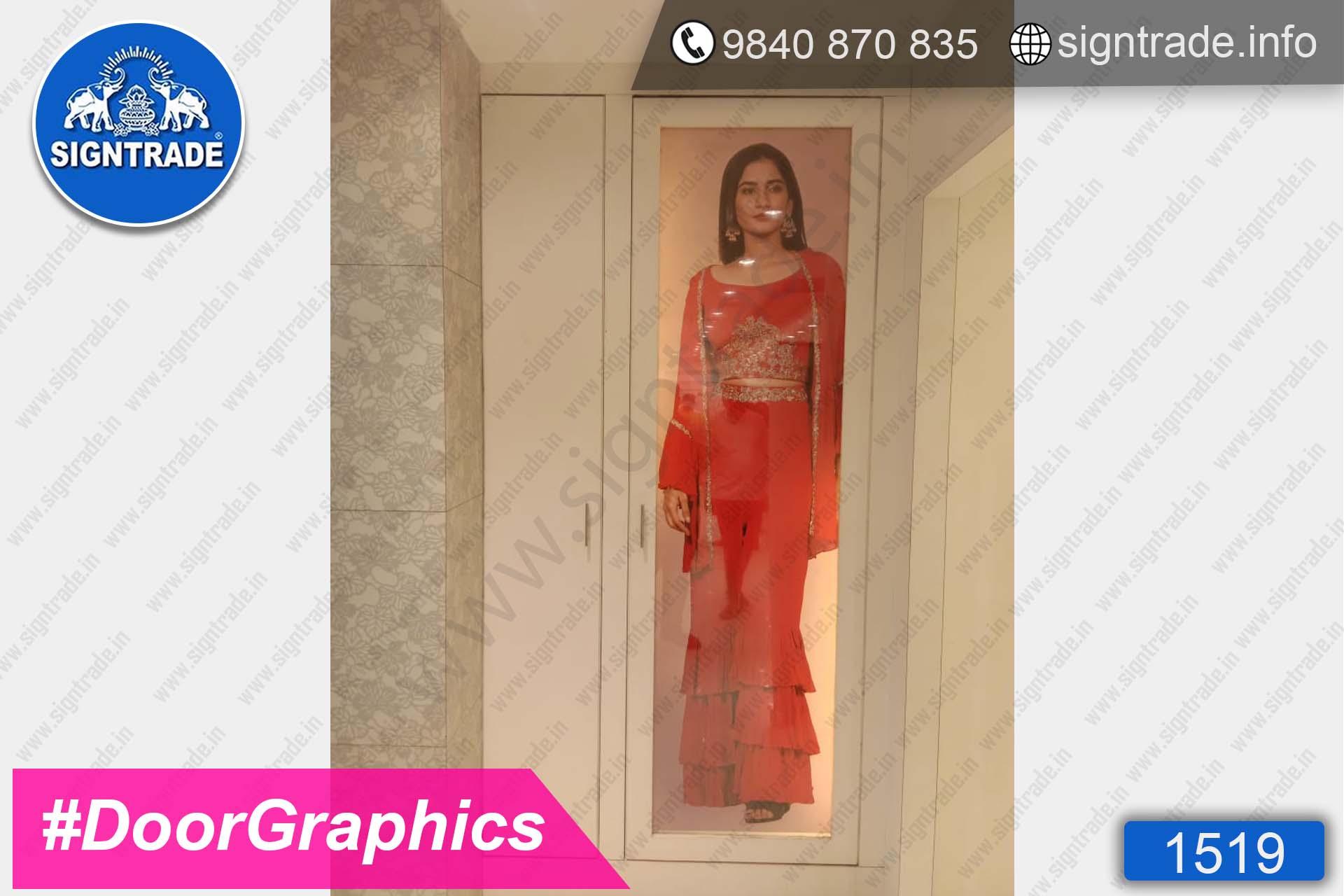 Kay The Fashion Bay, Mount Road, Chennai - SIGNTRADE - Door Graphics, Vinyl Graphics, Vinyl Printing Service in Chennai